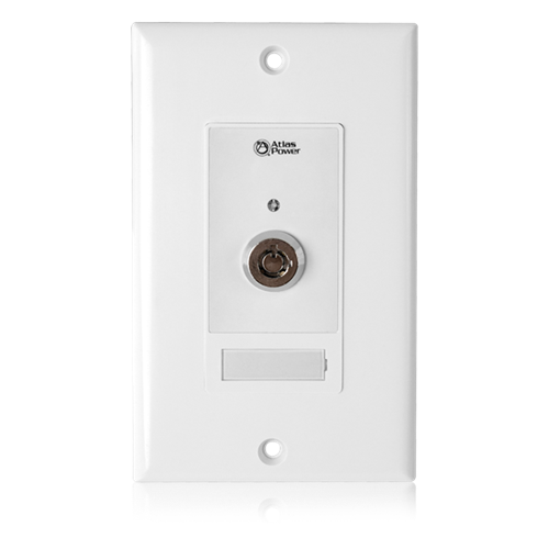 Picture of Wall Plate Key Switch, Momentary Contact Closure